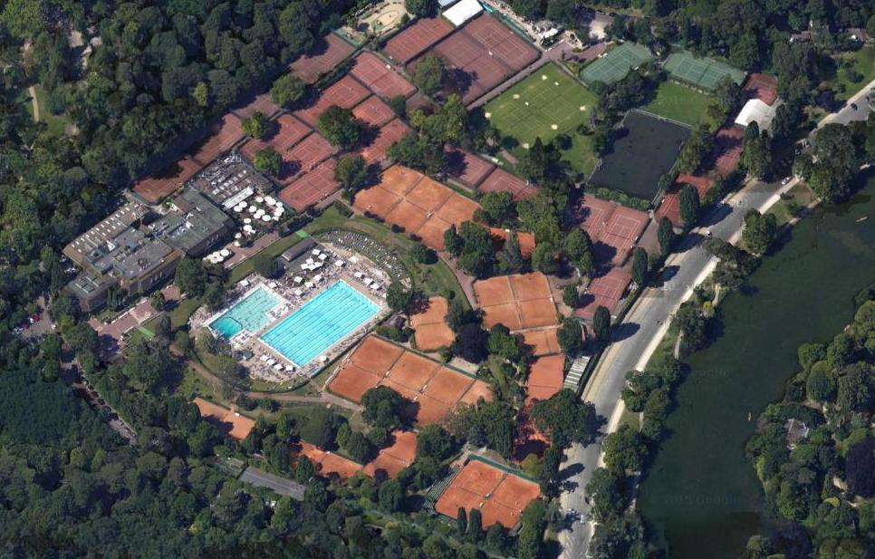 Des vues satellites saisissantes de Paris !  Les mystères de Paname ~ Grand Hotel Bois De Boulogne